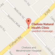 map chelsea natural health london fulham road sw10
