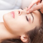 woman acupressure face massage closeup chelsea natural health london fulham road sw10